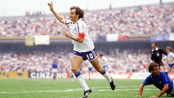 Italia vs Francia, Mundial México 1986   Foto: Getty