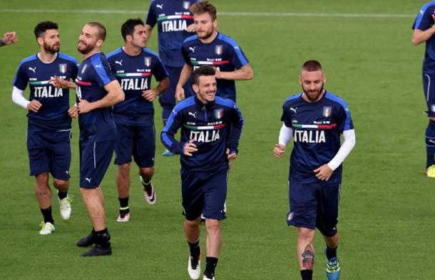 L'Italia al lavoro a Coverciano, makemefeed.com