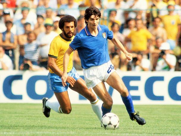 Barcelona y Madrid vivieron la eclosión definitiva de Paolo Rossi en el Mundial 1982. | Foto: FIFA
