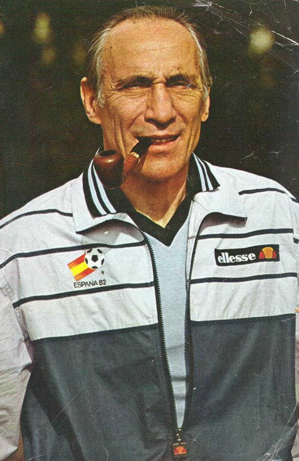 Enzo Bearzot, entrenador campeón del Mundial 1982 con Italia. | Foto: FIFA