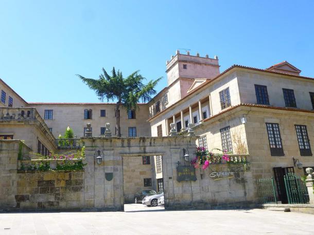 El Parador Casa Do Barón fue el cuartel general de Italia en el Mundial 1982. | Foto: Paradores