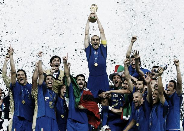 Cannavaro played every single minute of the 2006 World Cup for the Azzurri (Source: Gazzetta World)