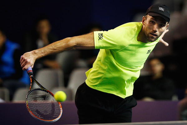 Ivo Karlovic in Paris, France. Photo: Dean Mouhtaropoulos/Getty Images