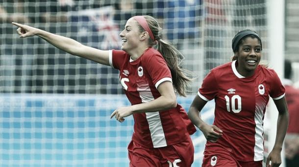 Janine Beckie has been in good form for Canada | Source: Getty Images
