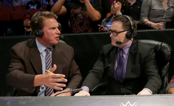 JBL became a target for hate following Mauro Ranallo's absence (image: wrestlingnewsblog)