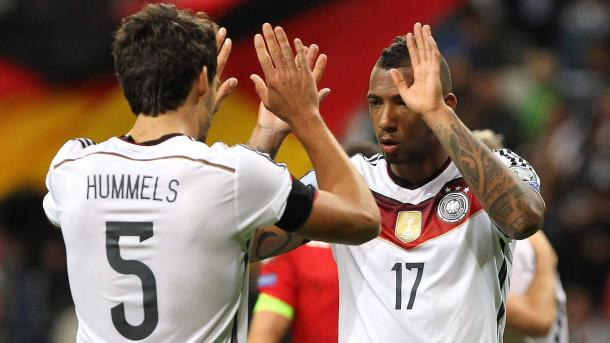 Can Hummels and Boateng make up for Germany's woes out wide? | Image source: DFB.de