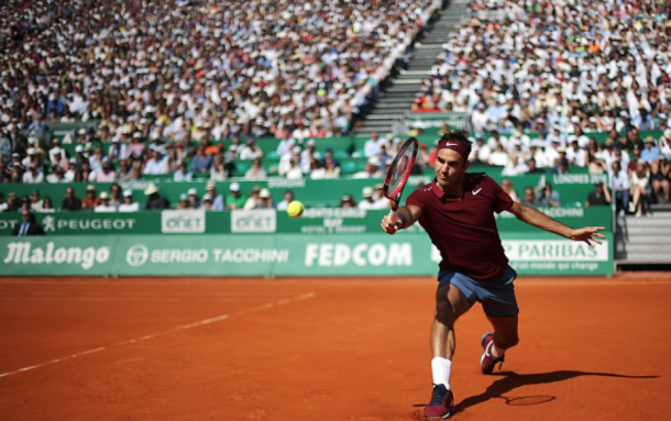 Federer maintained his long-awaited return to the tour last year in Monte Carlo. Credit: Jean-Christophe Magnenete/AFP/Getty Images