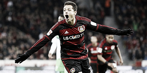 Javier Hernandez is hoping to find form once again. | Photo: kicker - Getty Images