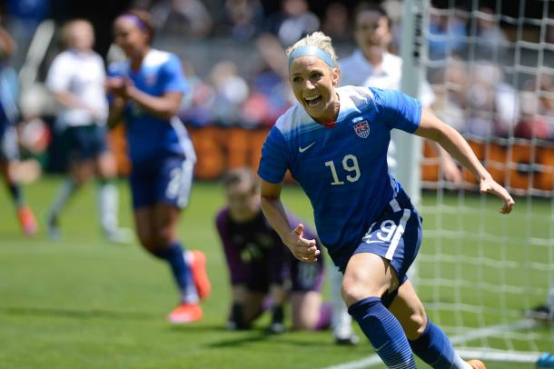 Julie Johnston was one of the starlets to shine in the World Cup.