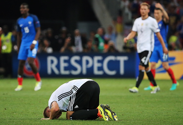 It was tough for the Germans to take. | Image credit: Alexander Demianchuk\TASS via Getty Images