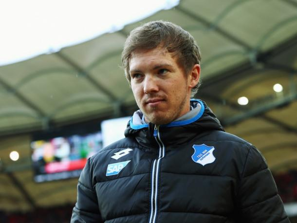 It was a day to forget for Nagelsmann and his side. | Image source: kicker