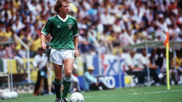 Nicholl in action for Northern Ireland. | Image source: RTE