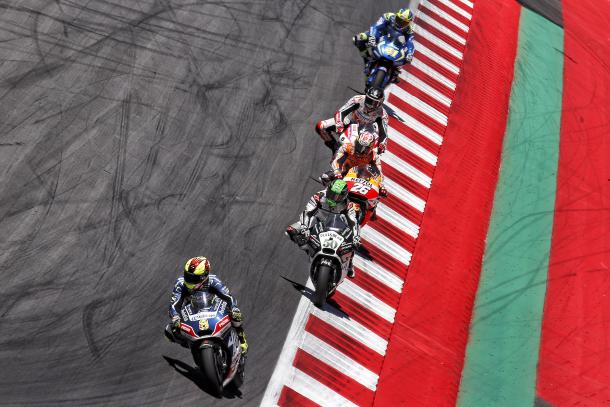 Barbera in a great position before the penalty - www.avintiaracing.com