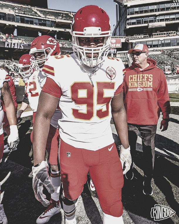 Chris Jones es uno de los pilares que Kansas City quiere retener para su proximo año (foto Chiefs.com)