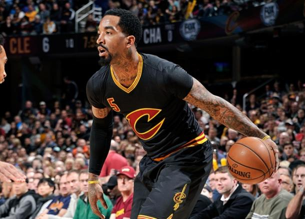 JR Smith, decisivo desde el banquillo. Foto: Cleveland Cavaliers