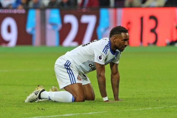 Defoe ya no está con Moyes. Foto: Premier League