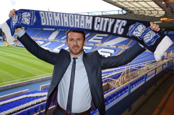 Rowett en su presentación con el Birmingham City. Foto: Birmingham