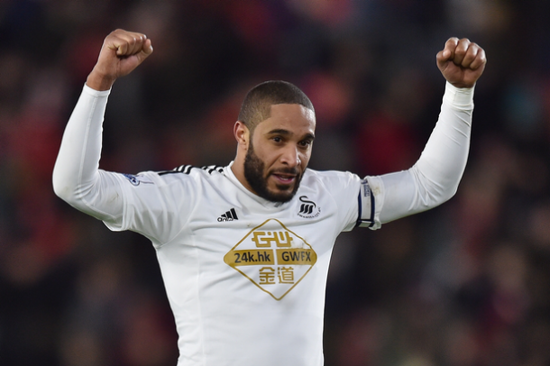 Williams has played a huge role in the securing of Swansea's safety this season. (Photo: Action Images / Tony O'Brien)