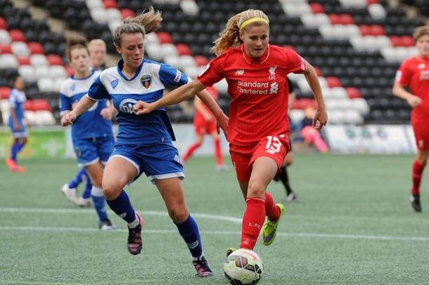 Rosie White will look to lead the way in terms of goal-scoring. (Photo: Liverpool Echo)