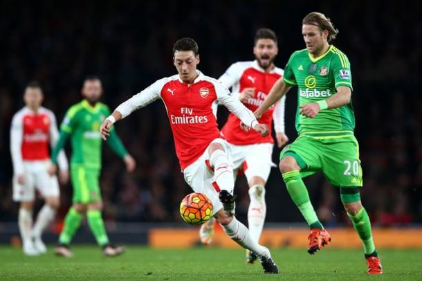 Ola Toivonen impressed in his last outing against Arsenal. (Photo: Chronicle Live)