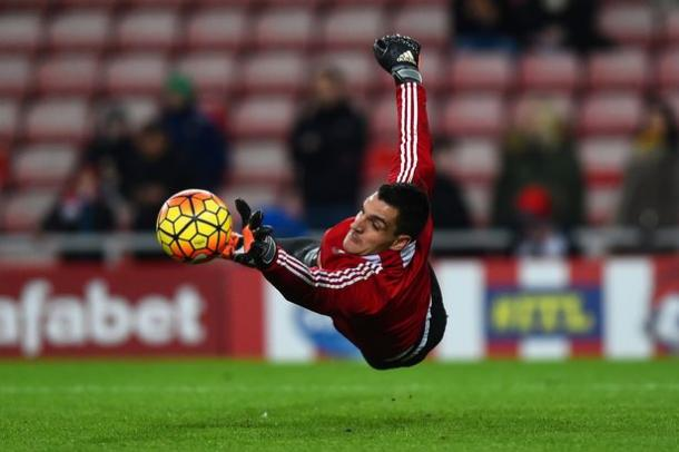 Mannone has impressed thoroughly on Wearside since the turn of the year, but not enough to earn an Italy call-up. (Photo: Getty)