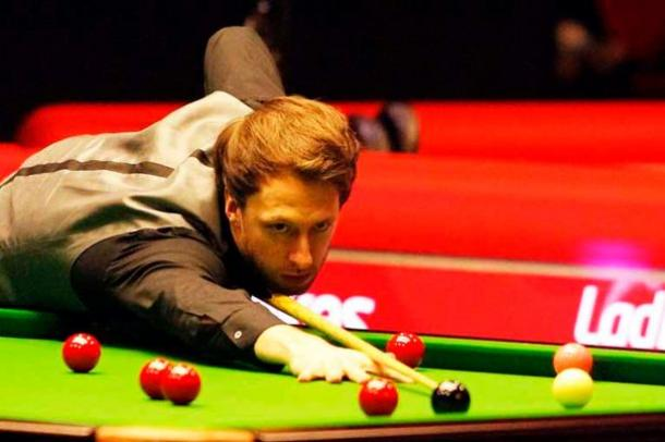 Judd Trump ensured he wasn't the big upset of the day with a win over Mark Williams. | Photo: Daily Post North Wales