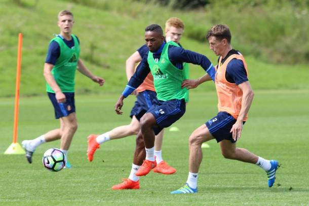 Jermain Defoe pre-season training | photo: The Chronicle