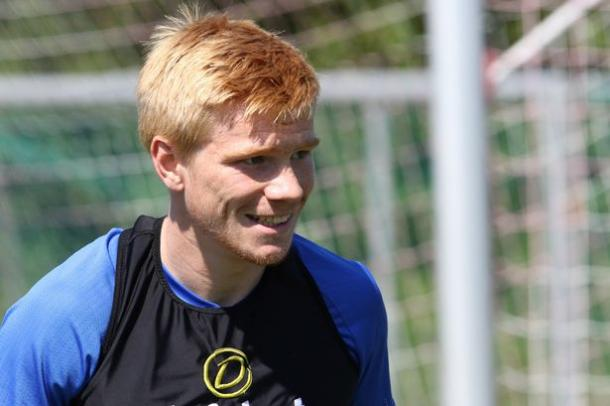Duncan Watmore in Austria, training with the Sunderland first team. (Image source: Ian Horrocks/Sunderland AFC via Getty Images)