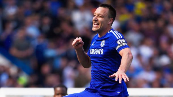 Winning feeling - Terry will be hoping to claim one final trophy before he leaves this summer. | Image source: Chelsea FC