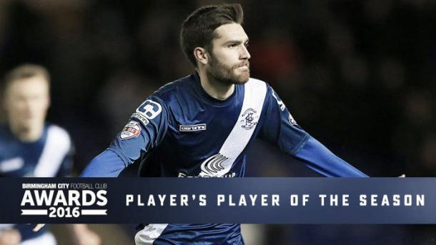 Toral wins player of the season. | Source: Birmingham City FC