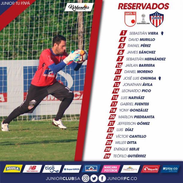 Foto: Junior de Barranquilla