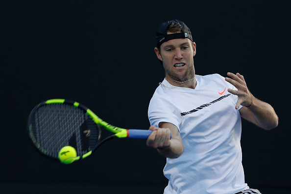 Jack Sock in action against Karen Khachanov (Getty/Jack Thomas)