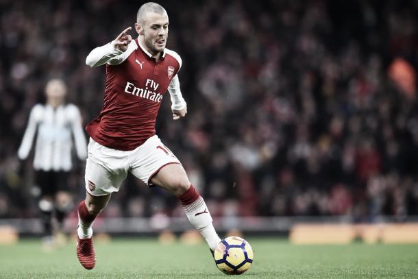 Jack encamina al Arsenal. Foto: twitter.com/Arsenal
