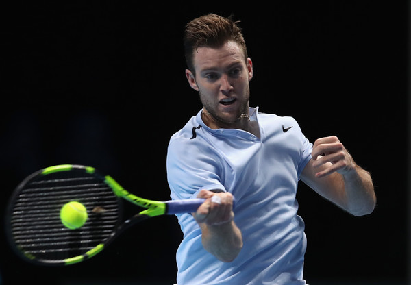 Jack Sock in action in his first ever London campaign | Photo: Julian Finney/Getty Images Europe