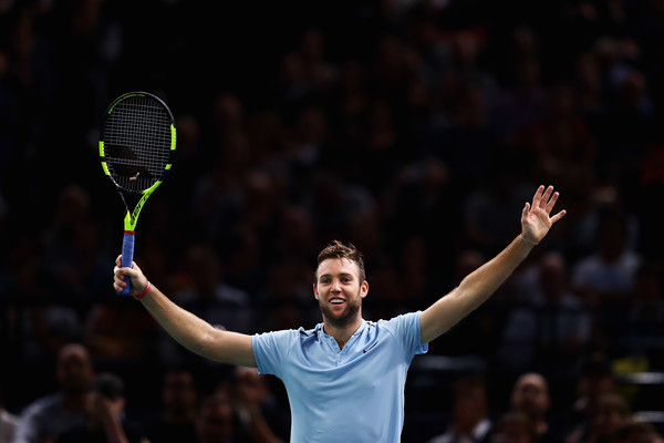Jack Sock had an incredible rise in the rankings towards the end of 2017, cracking the top-10 and making his debut in London | Photo: Dean Mouhtaropoulos/Getty Images Europe