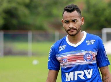 Jackson reforçou que Bahia vai batalhar pelo acesso apesar da situação complicada (Foto: Felipe Oliveira/EC Bahia)