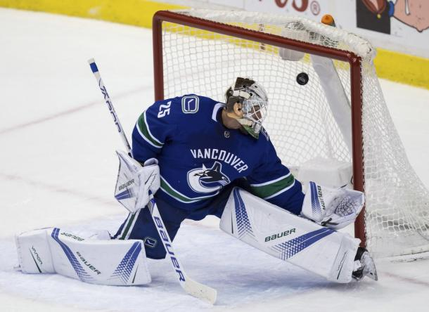 Jacob Markstrom | Foto: Boston Herald
