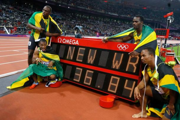 The Jamaican's smashed the world record at London 2012.