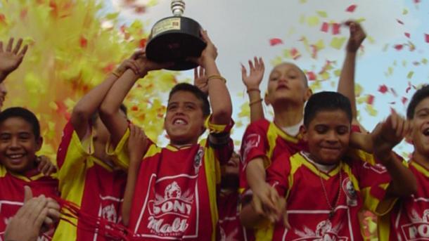 James Rodríguez en el Baby Fútbol