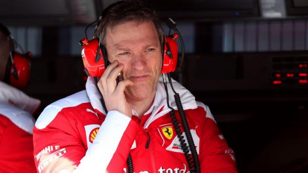 Allison has worked for Renault, Lotus, Ferrari and now Mercedes. (Image Credit: SkySports)