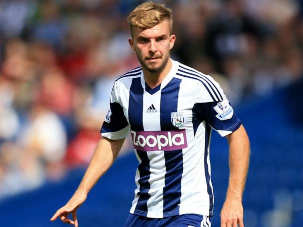 James Morrison playing for West Brom (Sky Sports)
