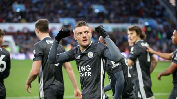 Jamie Vardy, leyenda viva del Leicester / Foto: Página oficial Leicester City