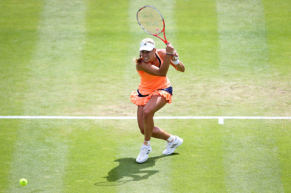 Kerber won her maiden title on grass in Birmingham last year (Getty/Jan Kruger)