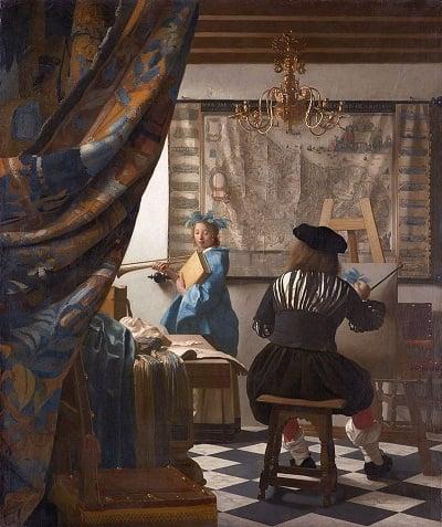 """""""Alegoría de la pintura"""" (c.1666)"""