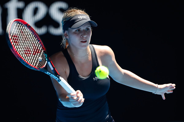 Jana Fett was playing extremely well and claimed the opening set 6-3   Photo: Scott Barbour/Getty Images AsiaPac