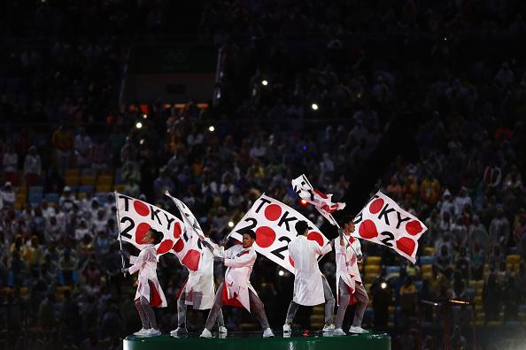 Japão faz bonita festa para apresentar Jogos de 2020 (Foto: Patrick Smith/Getty Images)