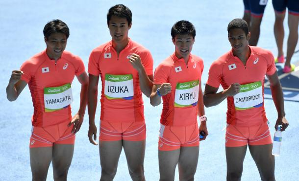 Japan were very impressive in the heats | Photo: AP.