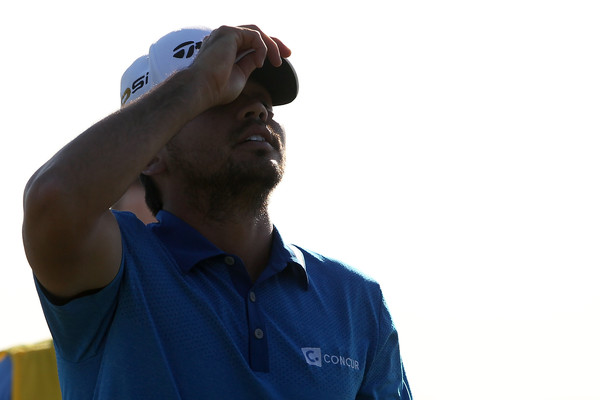 Jason Day in RBC Heritage action. Photo: Tyler Lecka/Getty Images