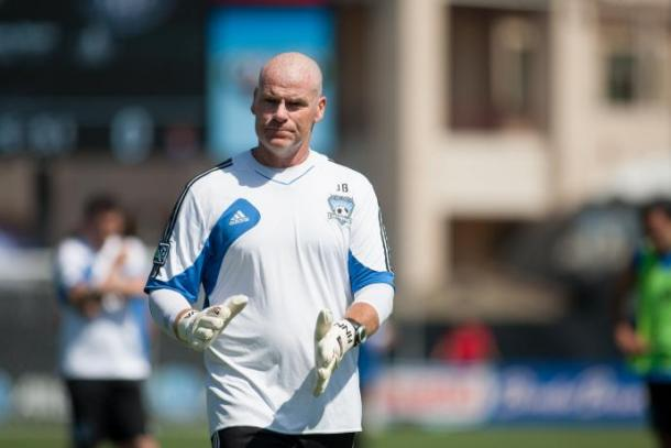 Jason Batty coaching for San Jose Earthquakes | Photo: San Jose Earthquakes