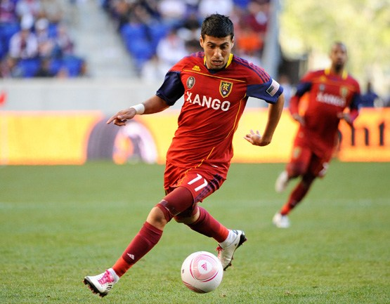 RSL's Javier Morales will need to lead the attack on Wednesday against Tigres U.A.N.L in the must win CCL quarterfinal match on Wednesday at Rio Tinto Stadium. Photo provided by Howard C. Smith-ISI Photos.